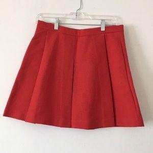Gap Red Mini Skirt